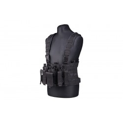 SCOUT CHEST RIG TACTICAL VEST NEGRO