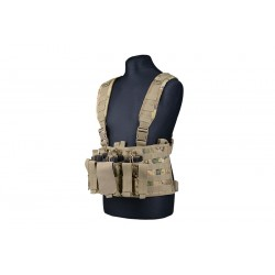 SCOUT CHEST RIG TACTICAL VEST MULTICAM