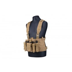 SCOUT CHEST RIG TACTICAL VEST TAN