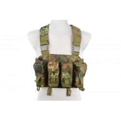 CHEST RIG TYPE TACTICAL VEST- FLECKARN