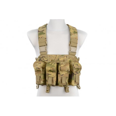 CHEST RIG TYPE TACTICAL VEST- MULTICAMO