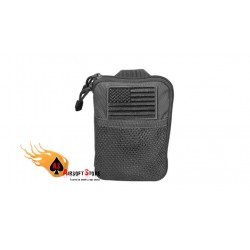 CONDOR MA16-001 Pocket Pouch with US Flag Patch BLK