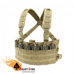CONDOR MCR6: Rapid Assault Chest Rig TAN