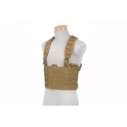 SCOUT CHEST RIG MOLLE TACTICAL VEST - Tan