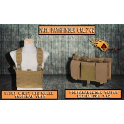 PACK PATHFINDER CAL.7´62 TAN