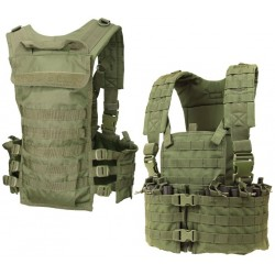 CONDOR CS-001 Modular Chest Set Olive