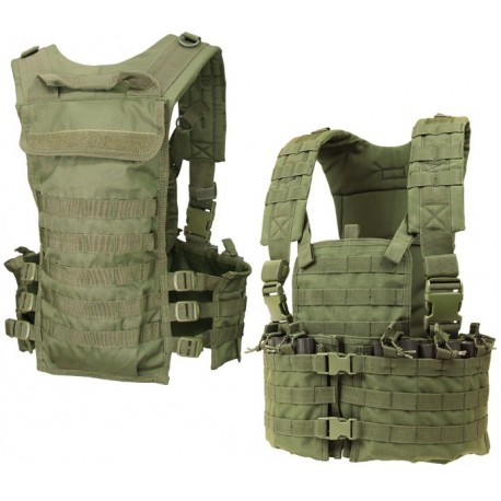 CONDOR CS-003 Modular Chest Set Coyote Tan