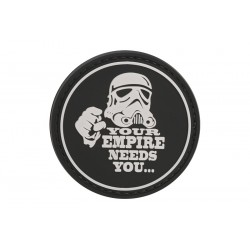"PARCHE DE PVC ""EMPIRES NEEDS YOU"""