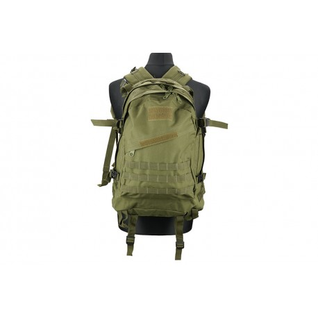 MOCHILA 3D- ASSAULT PACK VERDE