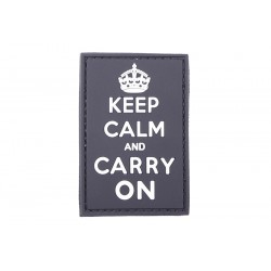"PARCHE 3D ""Keep Calm And Carry On"""