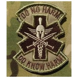 "PARCHE MÉDICO ""DO NO HARM"""