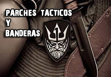 PARCHES Y BANDERAS